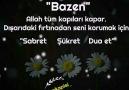 Dua Kapısı - Kendisini ananı unutmayanŞükredenin...