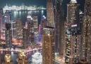 Dubai Marina - Night Helicopter