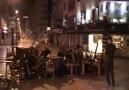 Dün gece İzmir...