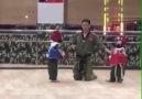 Dünyanın en kısa taekwondo müsabakası..