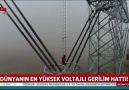 Dünyanın en yüksek voltajlı gerilim hattı !1100 kV (UHV DC)