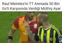 Dünya üzerinde en kral hareket Raul... - Sevdamız Fenerbahçe