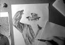 ••Sadri Alışık Karakalem Çizimi ••