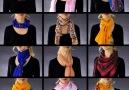 12 easy scarf wraps