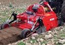 Easy way to turn rock field into farmlandCredit Euro Agri Mat -