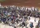 Efrinde binlerce kişi saldırılarını protesto etti
