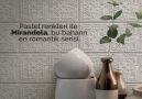 Ege Seramik - Pastel renkleri ve rölyefli tasarımı ile...