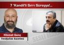7 'Kandil'li Sırrı Süreyya!