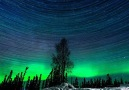 Electric Northern Lights Time Lapse Alaska.