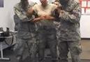 Elektro Şok Tabancasıyla Vurulan Kadın Asker :)
