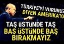 Erdoğandan AMERİKAya Tarihi Cevap (OSMANLI TOKADINI..)