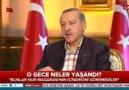 Erdoğan darbe gecesini anlattı!
