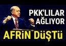 Erdoğan MÜJDELER OLSUN AFRİN BİZİMDİR. (18 Mart)