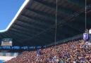 Erzurumspor taraftarından Rize maçında 53. dakika Trabzonspor tezahüratı )