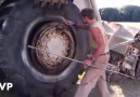 Ether Tire Mounting Explosion Compilation