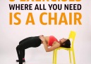 5 exercises where all you need is a chair