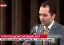 Fatih Erbakan Milli İttifak Denen Şer İttifakına Gerekli Dersi...