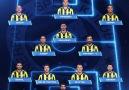 Fenerbahçemizin Antalyaspor karşısında ilk 11i!