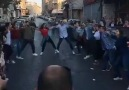 Filistin halkı birleşmeyi kutluyor.Mükemmel halay gösterisi
