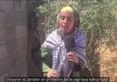 Filistinli kızdan Erdoğan şiiri