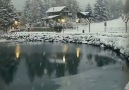 First snow in Switzerland Is it snowing in your country Video by @sennarelax