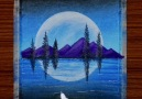 Floating Mountains Watch video on... - Deepak&Art & Craft