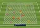 Football Coach - 137. Rondo 4v2 with Transitions - 3 teams...