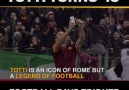 Football pays tribute to Totti