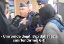 Fransız polisi sığınmacı göçmen kadını kampa sokmadı...