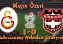 Galatasaray 1-0 Gaziantepspor Maçın Özeti
