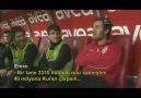 Galatasaray Yedek Kulübesinde İlginç Muhabbet :)