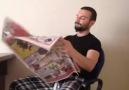 Gazete Okumaya Çalışmak