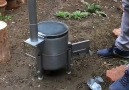 Gaz Tüpünden Mini Kamp Sobası YapımıKaynak Cemal Açar