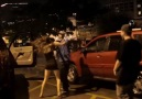 GIRL AND HER BOYFRIEND ATTACK A GUY, RANDOM DUDE HELPS HIM OUT