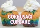 Gökkuşağı Cupcake