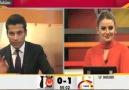 GS TV'de Beşiktaş'ın Golüne Sevinenler