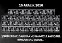 Güvenlik Daire Başkanlığı - 10 ARALIK ŞEHİTLERİ Facebook