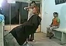 Hahaha .....New Hair Cutting Style...never seen  before...