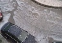 Hail in Corroios Portugal this morning. We thank LS Santos for reporting (Y)