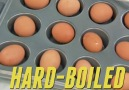 Hard-Boiled Eggs in the Oven