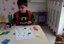 Harflerle Montessori Etkinliği