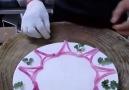 Harika sunum tabakları