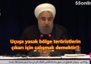 Hasan Ruhani: Savaş uçakları Suriye'yi bombalamaya devam etsin!