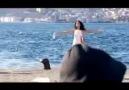 Hayat Su reklamı - Kamera arkası
