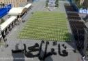 Hazret-i İmam Ali Hamaneyin huzuzrunda İran ordusunun güzel gösterisi