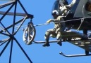 Helicopter Power Line Maintenance