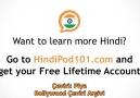 Hintçe Öğreniyoruz - 7