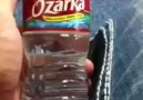 How to drink a bottle of water quickly