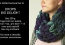 How to finger and arm knit a beautiful necwarmer