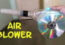 How to make a DIY air blower [EASY]